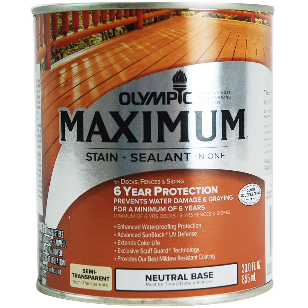 Olympic Maximum Stain Review Deckstainpro