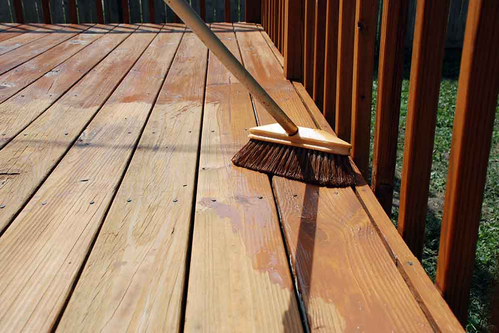 Best Weathered Wood Deck Stain Deckstainpro