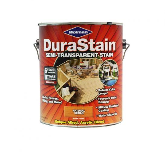 Wolman DuraStain Semi Transparent Exterior Stain