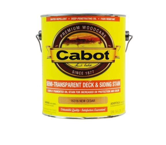 Cabot Semi Transparent Deck Stain Exterior Wood Stain