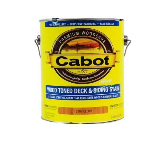 Cabot Wood Toned Deck Stain Exterior Wood Stain