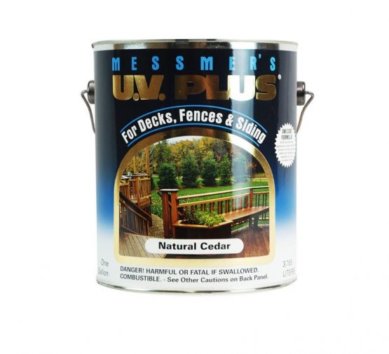 Messmers UV Plus Exterior Wood Deck Stain