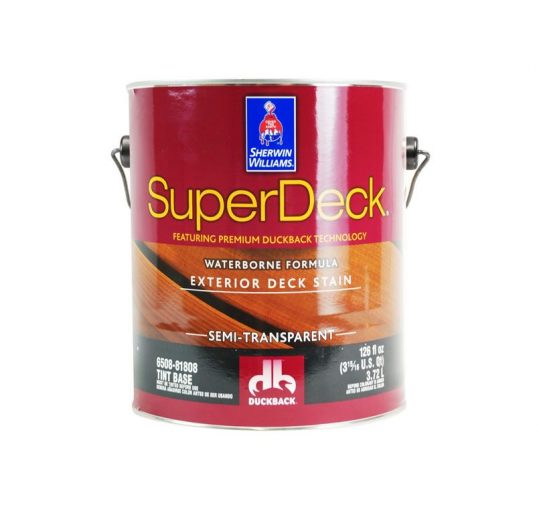 SuperDeck Waterborne Stain