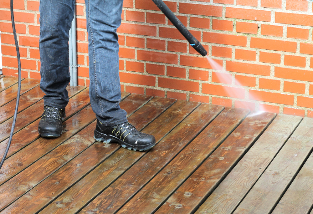 Remove Green Algae From Wooden Deck